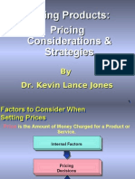 4.3. Pricing Products - Pricing Considerations & Strategies