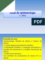 AULAS EPISTEMOLOGIA 1-2012