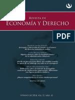 Revista de Economía y Derecho 41