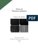 Notas Mecanica Quantica - Carlos Herdeiro