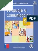 Guía del docente Lenguaje 5° Básico 2014