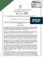 Decreto 3022 Del 27 de Diciembre de 2013