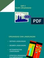 Sap 2 Teori Organisasi Linkungan