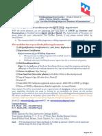 Cswip 3.1 April 2013, Surat