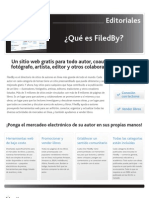 FiledBy Overview for Publishers [Spanish]