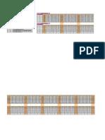 2 Way Slab Design for First Floor Option-1 Trial