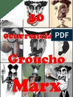 30 Ocurrencias de Groucho Marx