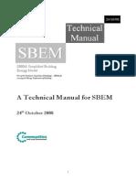 SBEM Technical Manual v3.0.b 24Oct08