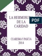 caritas española - cuaresma y pascua 2014