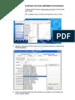 Configuracion Epson t50 Para Imprimir Fotochecks - Copia