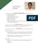 Mariano Favia – Resume