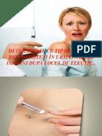 recunoasterea injectiilor