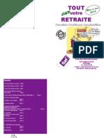 Brochure Retraite 2014