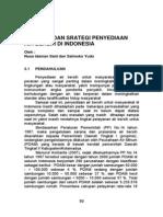 Masalah Dan Strategi Penyediaan Air Bersih Di Indonesia