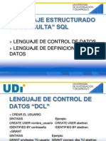DCL y DDL