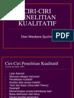 02. CIRI-CIRI PENELITIAN KUALITATIF.ppt