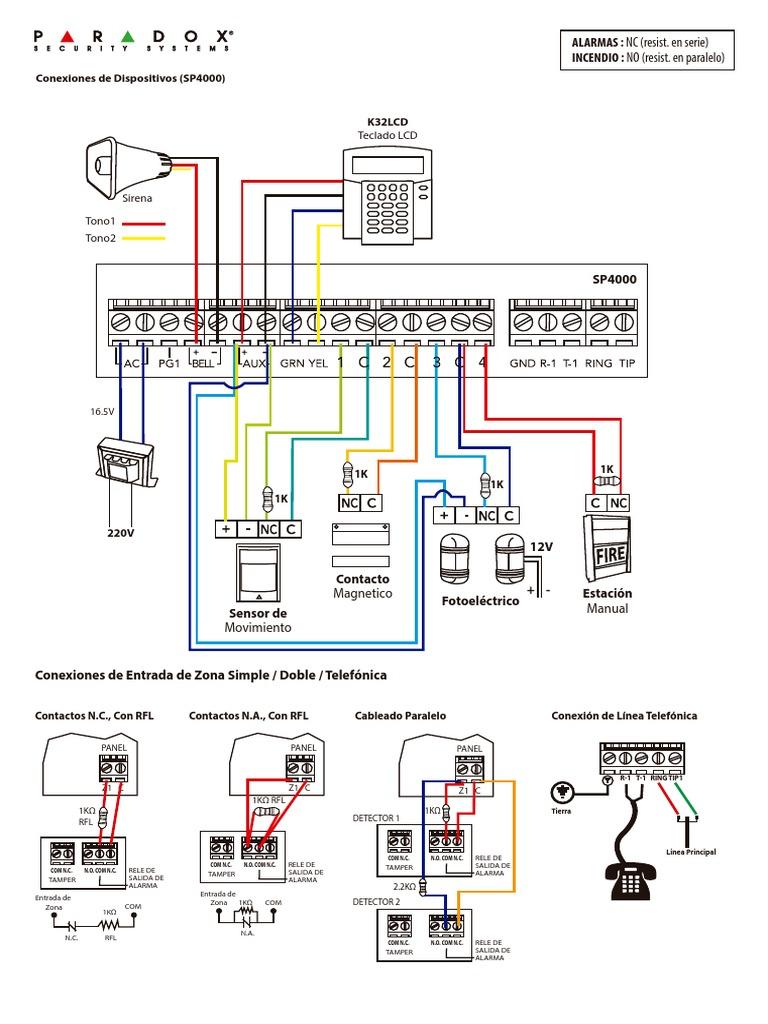 1509911610 alarma conexion y configuracion paradox paradox sp6000 wiring diagram at bayanpartner.co