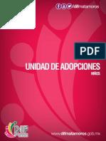 Unidad de adopciones - Niños DIF