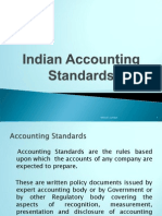 Indian Acct Standard and US GAAP