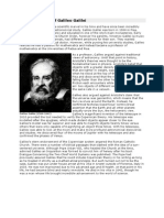 Brief Biography of Galileo Galilei