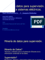 Mineria_de_Datos_Redes de Distribución FIEE UNCP