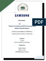 samsungprojectreport-120309035425-phpapp02