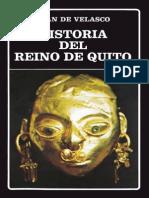 De Velasco Juan Historia Del Reino de Quito