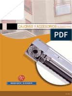 Cajones y Accesorios de Aluminio