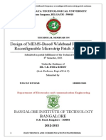 wideband frequency patch antenna seminar report.doc