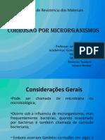 Corrosão Microbiológica