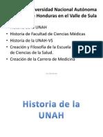 Historia de La Unah