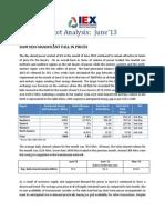 IEX Market Analysis - June