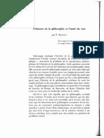 59953336 Ricoeur L Histoire de La Philosophie Et l Unite Du Vrai 1954