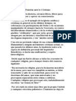 Posición ante lo Cristiano.doc
