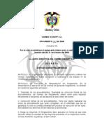 Documento 001 de 2009