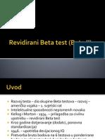 Revidirani Beta Test (Beta II)