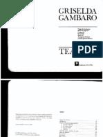 Gambaro Griselda - El Despojamiento