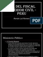 Rol Del Fiscal Superior Civil