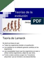 Teorías de la evolución octavo 2013