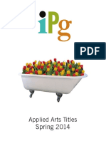 IPG Spring 2014 Applied Arts Titles