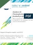 Compte-rendu général A.Mette-PFG Enquête homophobie football 2013
