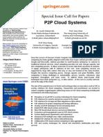 PPNA CfP P2P Cloud Systems