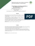 """""""Análisis de las Técnicas y de los Procesos Aplicables en Reacondicionamiento de Pozos"""""""
