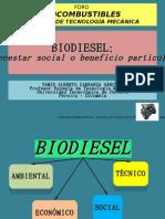 Biodiesel:¿bienestar social o beneficio particular?