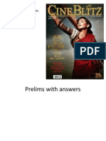 Prelims Answers India Quiz