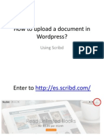 How to Upload a Document in Wordpress