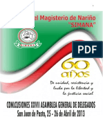 26Abril2013 - Simana Congreso