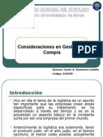 Consideraciones en Gestion de Compras - Expo