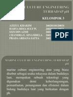 Marine Culture Engineering Terhadap Ph
