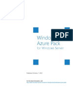 Windows Azure Pack White Paper